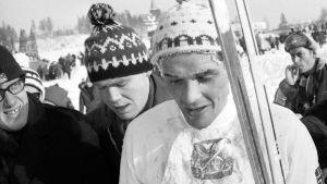 Gjermund Eggen kuvassa vuodelta 1966