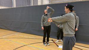 Sotkamon Jymy pelaajat käyttävät draaman keinoja paineensiedossa