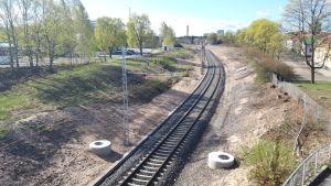 Rautatie Pori-Mäntyluoto -rata sähkörata
