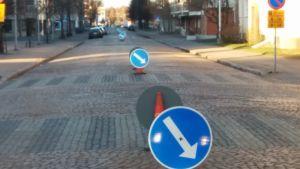 Oulu Kirkkokatu liikennejärjestelyt