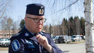 Rikosylikomisario Markus Kiiskinen
