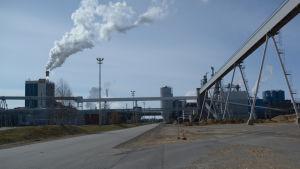 Metsä Fibren Kemin tehdas.