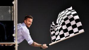 David Beckham osallistui formulakisoihin Bahrainissa maaliskuun lopussa.