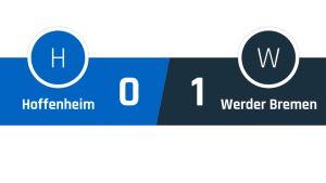 Hoffenheim - Werder Bremen 0-1