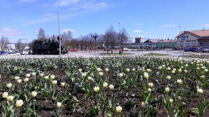 Joensuun asemanseutu toukokuussa 2019.