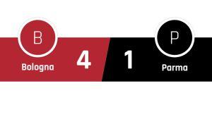 Bologna - Parma 4-1