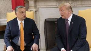Presidentti Donald Trump ja pääministeri Viktor Orbán puhuivat lehdistölle Valkoisessa talossa.