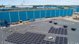 aurinkovoimala turun telakka meyer turku