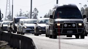 Liikenneruuhkaa