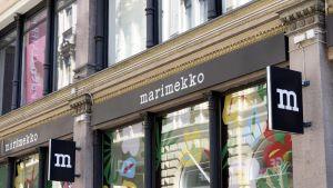 Marimekkon myymälä Helsingissä.