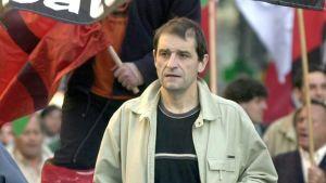 Baskijohtaja Josu Ternera.
