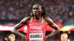 Margaret Nyairera Wambui lähikuvassa.