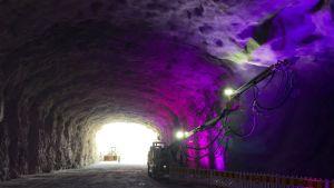 Liipolan tunnelityömaa Lahti
