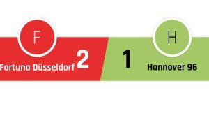 Fortuna Düsseldorf - Hannover 2-1