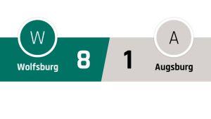 Wolfsburg - Ausburg 8-1