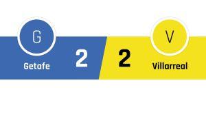 Getafe - Villareal 2-2