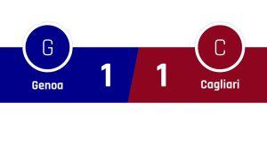 Genoa - Cagliari 1-1