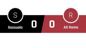 Sassuolo - Roma 0-0