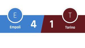Empoli - Torino 4-1