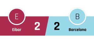 Eibar - Barcelona 2-2