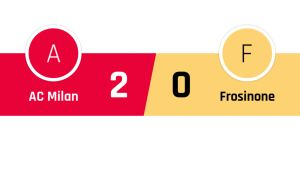 AC Milan - Frosinone 2-0