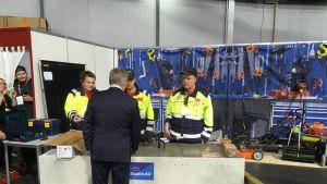 Presidentti Sauli Niinistö vieraili Taitaja 2019 -kisoissa Joensuussa.