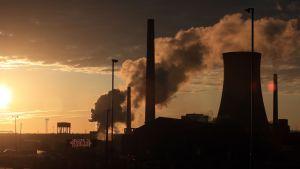 British Steelin tehdas Lincolnshiressa.