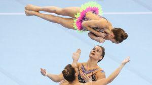 Akrobatiavoimistelu