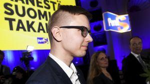 Perussuomalaisten Nuorten puheenjohtaja Asseri Kinnunen