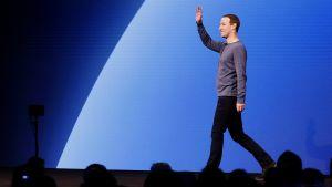 Mark Zuckerberg, Facebookin kehityskonferenssissa San Josessa, Kaliforniassa 30. huhtikuuta.