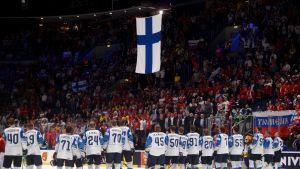 Suomen joukkue MM-välierän jälkeen