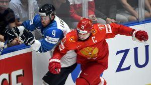 Mikko Lehtonen mahtui MM-kisojen tähdistöön, Venäjän Ilja Kovaltshuk ei