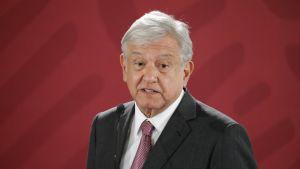 Meksikon presidentti Andres Manuel López Obrador