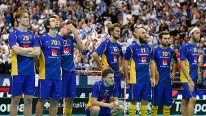 Ruotsin miesten salibandyjoukkue hävisi Suomelle MM-finaalin vuonna 2018 sekä vuonna 2016.