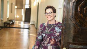 20180820, Helsinki Eduskunnan sosiaali- ja terveysvaliokunnan kokous Hannakaisa Heikkinen