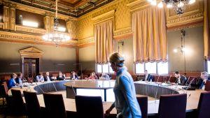 Hallitusneuvottelut säätytalolla