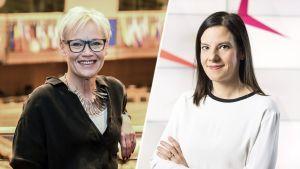 Susanna Turunen ja Kirsi Heikel