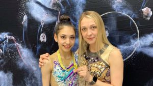 Imatran voimistelijoiden rytminen voimistelija Lisa Jamil on valittu nuorten rytmisen voimistelun MM-kisoihin Moskovaan.