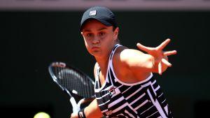 Ashleigh Barty saavutti uransa ensimmäisen loppuottleupaikan major-turnauksessa.