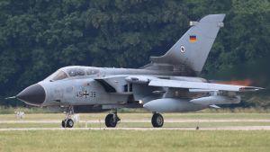 Saksalainen Tornado-hävittäjä