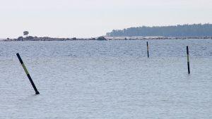 tuloväylä Kaunissaareen, itäinen Suomenlahti
