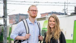 Istvan Rytkönen ja Nea Peltoniemi.