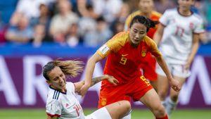 Kiina ja Espanja pelasivat 0-0 naisten jalkapallon MM-kisoissa