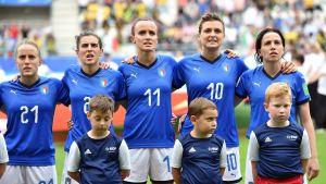 Italia MM-kisoissa 2019.