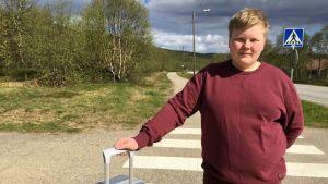 Leevi Halonen on kotoisin Suomen pohjoisimmasta kunnasta, Utsjoelta.