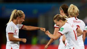 Englannin naisten jalkapallomaajoukkue