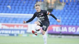 FC Lahden Mikko Hauhia HIFK-ottelussa huhtikuussa 2019