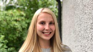 Haaga-Heliassa liikunnanohjaajaksi opiskeleva 23-vuotias Linda Laukkanen on tehnyt harjoittelun ohella myös toista työtä.