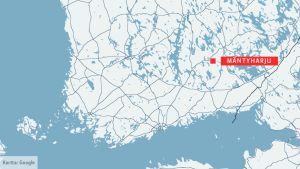 Kartta, Mäntyharju