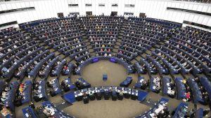 Euroopan parlamentin avajaisistunton Strasbourgissa 2. heinäkuuta 2019.,